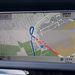 Nem olyan szép a navi, mint az Audi Google Earth-ös változata, de megjárja. Inkább a bonyolult menürendszer zavaró
