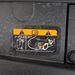 Figyelmeztetés az energiatároló kondenzátorra. Biztos nagyot bír csapni