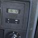 Őrület: beépített digitális óra. A fordulatszámmérővel jött