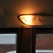 Mennyezeti lámpa beépített olvasónagyítóval