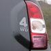 Új a hátsó lápa és a 4WD felirat