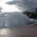 Hideg volt, és erős szél, rendesen felkorbácsolta a hullámokat