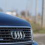 Sematikus Audi-orr, jellegzetes quattro-ráccsal