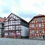 Favázas házak egy kisvárosban
