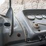 Az izzító/indítókar. Még háború előtti Bosch-koppintás