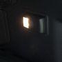A beltéri világítás kis lámpája...