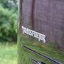 Transporter felirat Transformers stílusban