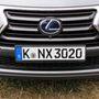 Így néz ki egy Luxury kategóriájú NX300h orra