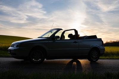 Kötelező naplementés kép - csak úgy árad a hangulat a Golf Cabriolet-ből