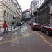 A Károlyi Mihály utca felől érkezők itt, a kétirányúsított szakaszon menekülhetnek a dzsungelből